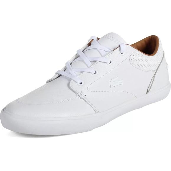 898e417a7 Lacoste Other - Men white Lacoste shoes